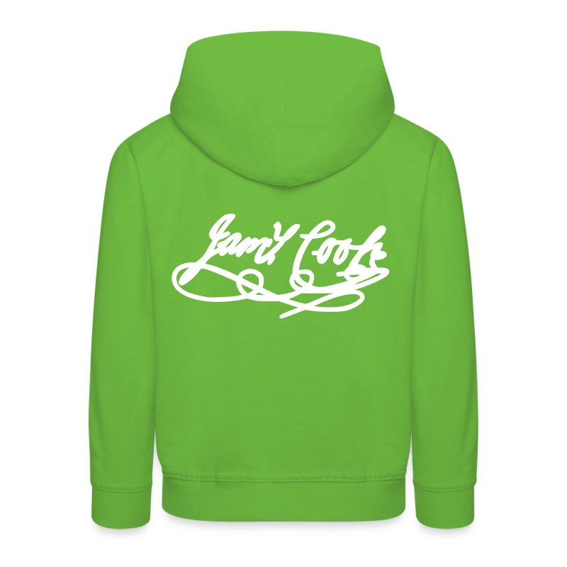 Unterschrift James Cook Bold - Kinder Premium Hoodie