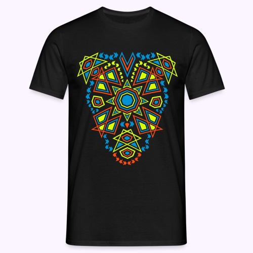 Tribal Sun Front Print: Men Classic Shirt - Men's T-Shirt