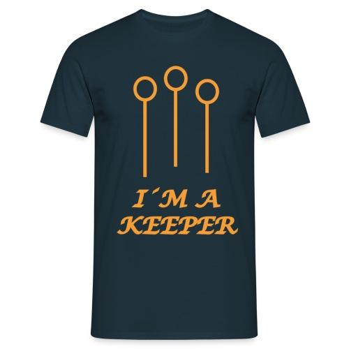 I´m A Keeper - T-shirt herr