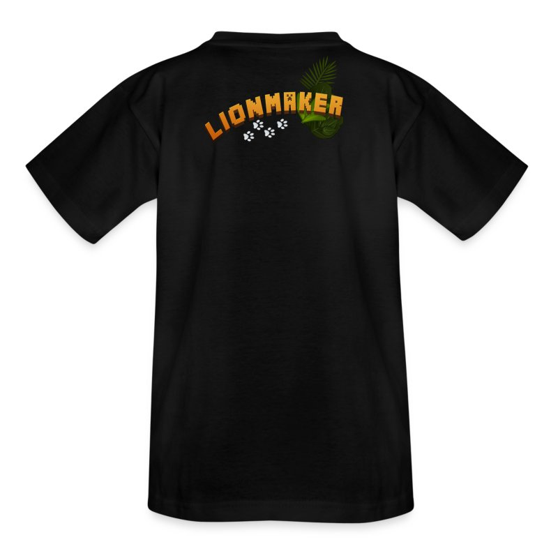 LionTeen's Shirt Light Paws - Teenage T-shirt