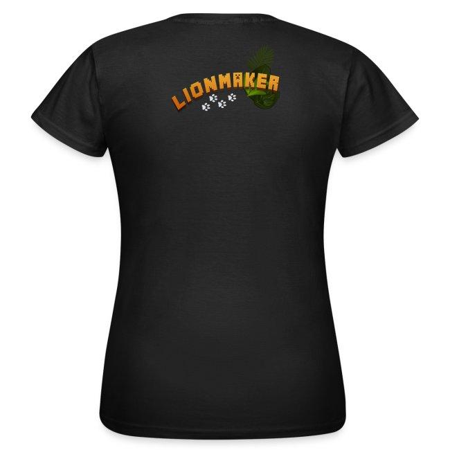 LionWoman's Shirt Light Paws