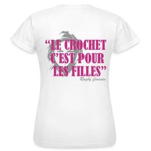 LE CROCHET - T-shirt Femme