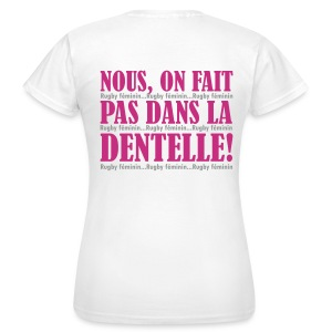 DENTELLE - T-shirt Femme