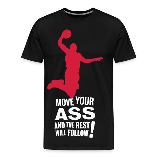 LeBron J@mes - Männer Premium T-Shirt