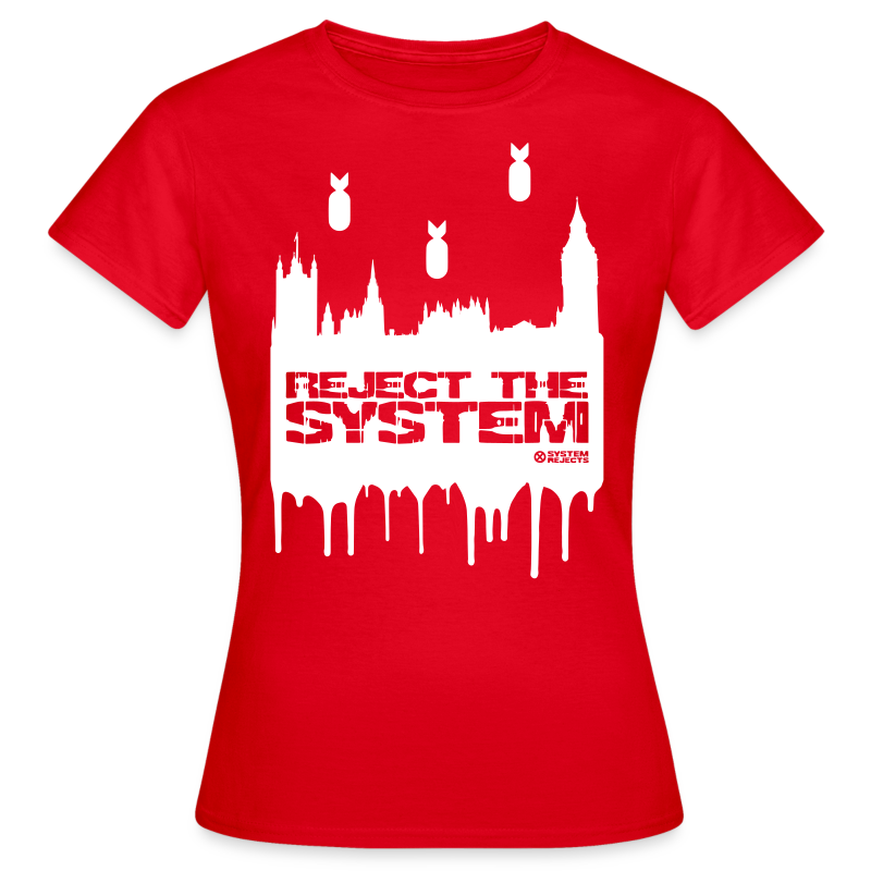 Women's Reject The System T-Shirt - Women's T-Shirt