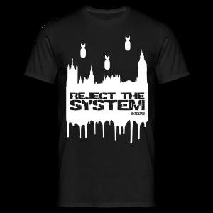 Men's Reject The System T-Shirt - Men's T-Shirt