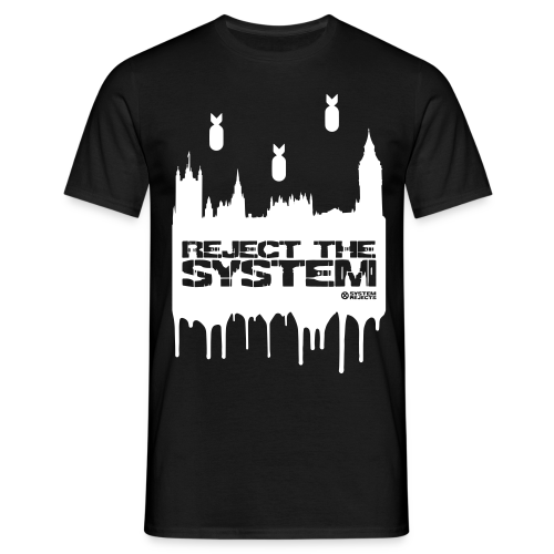 Men's Reject The System T-Shirt - Men's T-Shirt