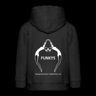 Pullover & Hoodies ~ Kinder Premium Kapuzenjacke ~ Kinder Kapuzenkjacke