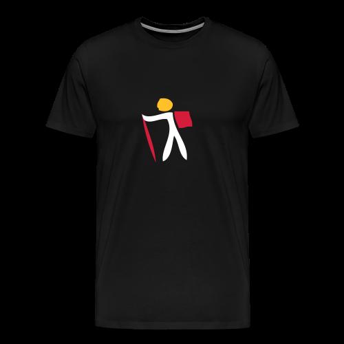 TIAN GREEN Shirts Men - 1 Traveler on Tour 01 - Männer Premium T-Shirt