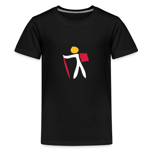 TIAN GREEN Shirts Teen - 1 Traveler on Tour 01 - Teenager Premium T-Shirt