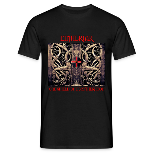 Einherjar / One shield... - Männer T-Shirt