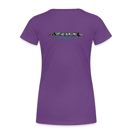Women's T-Shirt Front and Back Logo - Women's Premium T-Shirt