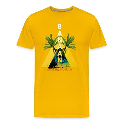 Banaan 04 mannen premium - Mannen Premium T-shirt
