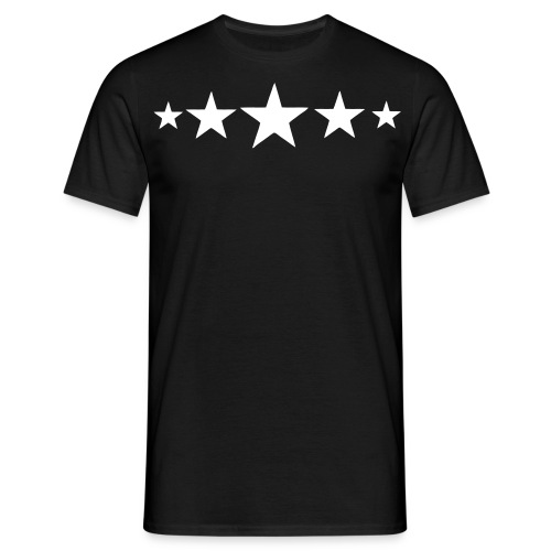 5-star Rating - Mannen T-shirt