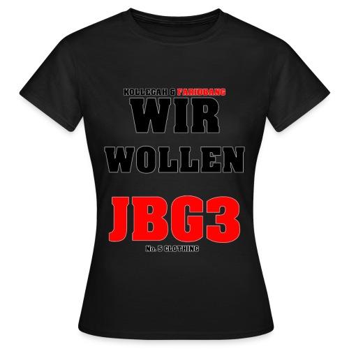 JBG3 Spezial Woman - Frauen T-Shirt
