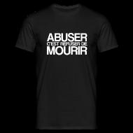 Tee shirts ~ Tee shirt Homme ~ ABUSER