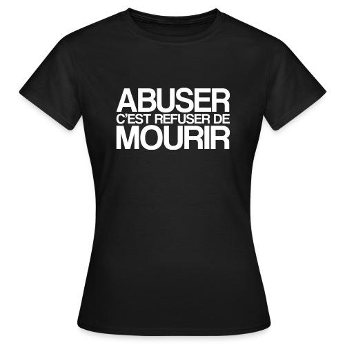 ABUSER - T-shirt Femme