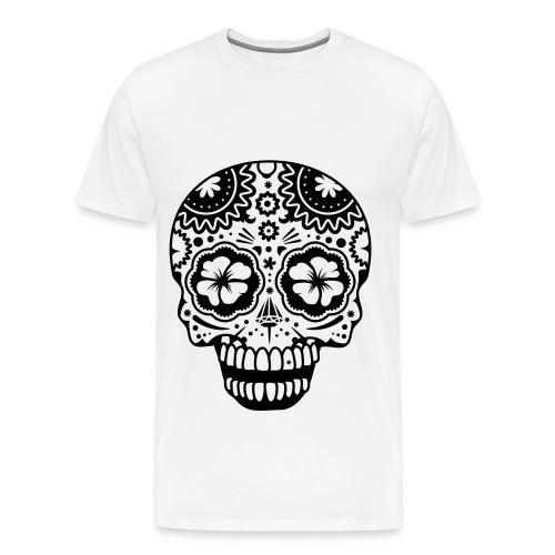 maglia mexican skull MAYBE - Maglietta Premium da uomo
