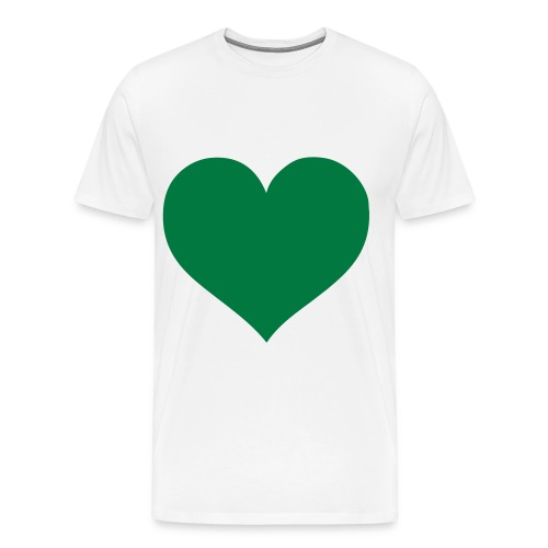 maglia cuore MAYBE - Maglietta Premium da uomo