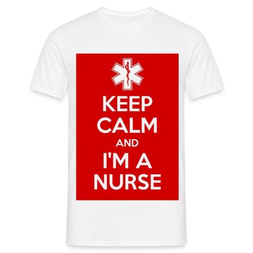 maglietta i'm a nurse - Maglietta da uomo