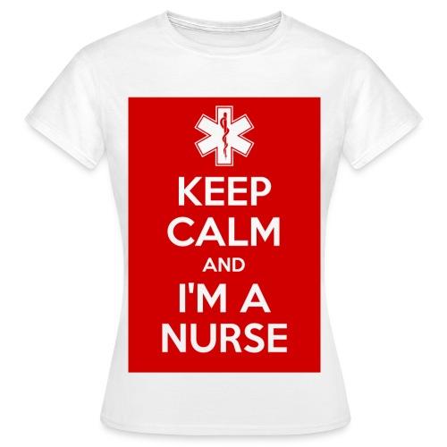 maglietta i'm a nurse - Maglietta da donna