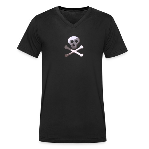 Skull and Crossbones KH - T-shirt bio col V Stanley & Stella Homme