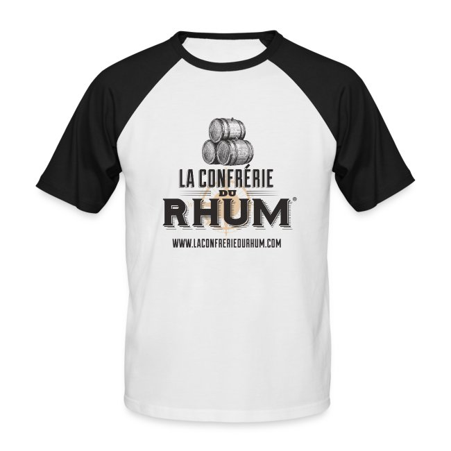 La Confrérie du Rhum (Homme) - Noir/Blanc