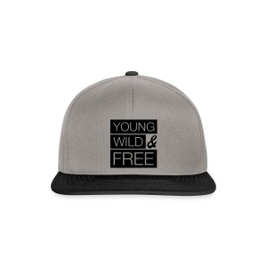 Young, wild & free - Snapback Cap