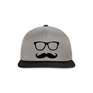 The Glasses and the Moustache - Snapback Cap