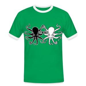 Pulpos.Camiseta contraste hombre - Camiseta contraste hombre