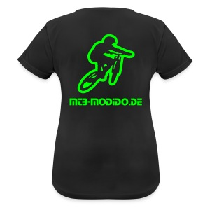 MoDiDo Frauen Shirt - Frauen T-Shirt atmungsaktiv