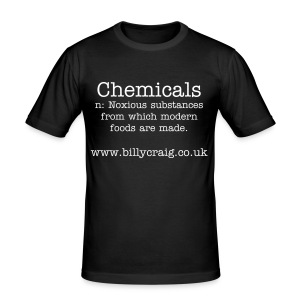 Chemicals - Men's Slim Fit T-Shirt