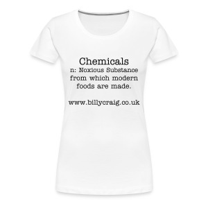 Chemical Lady - Women's Premium T-Shirt