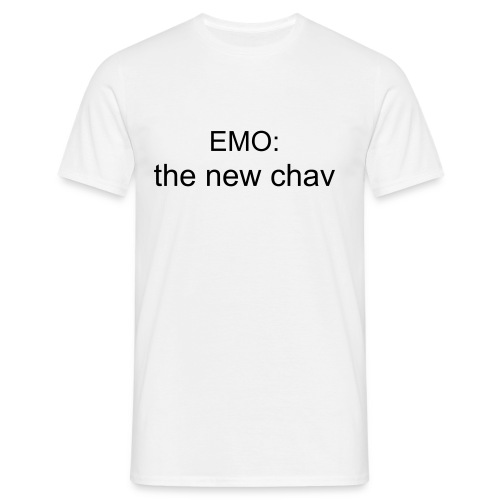 emo the new chav - Men's T-Shirt