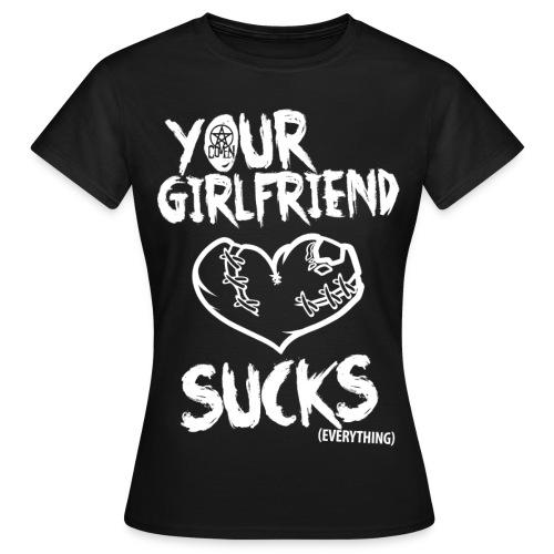 Girlfriend - Shirt - Camiseta mujer