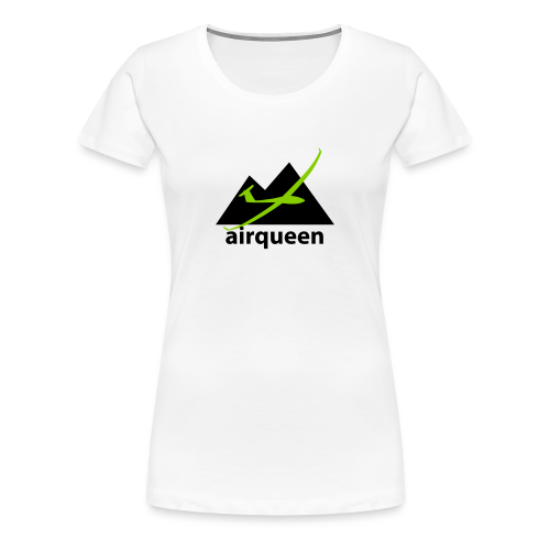 soaring-tv T-Shirt: airqueen - Frauen Premium T-Shirt