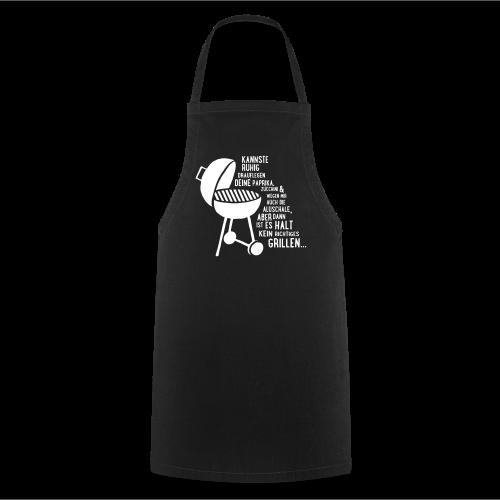 kein richtiges Grillen - Koch-/Grillschürze - Kochschürze