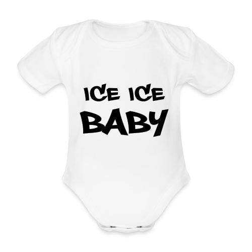 Ice ice baby - Ekologisk kortärmad babybody
