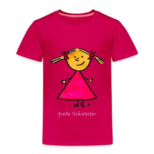 Kinder - Shirt Große Schwester - Kinder Premium T-Shirt