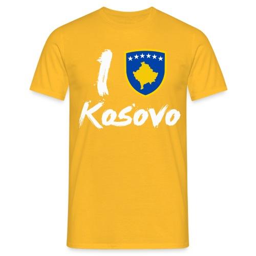 I LOVE Kosovo - Männer T-Shirt