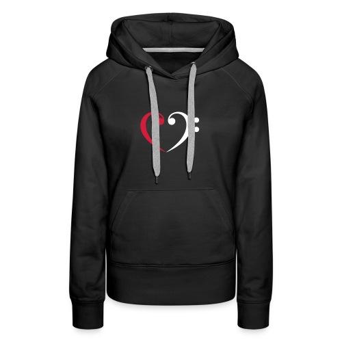 L&B Sweater Lady Premium - Frauen Premium Hoodie