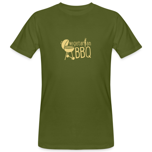 vegetarian bbq - herren bio t-shirt - Männer Bio-T-Shirt
