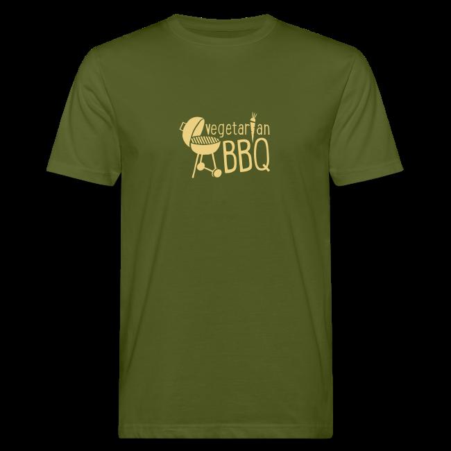 vegetarian bbq - herren bio t-shirt