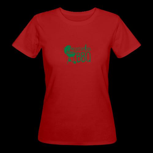 vegetarian bbq - damen bio t-shirt - Frauen Bio-T-Shirt