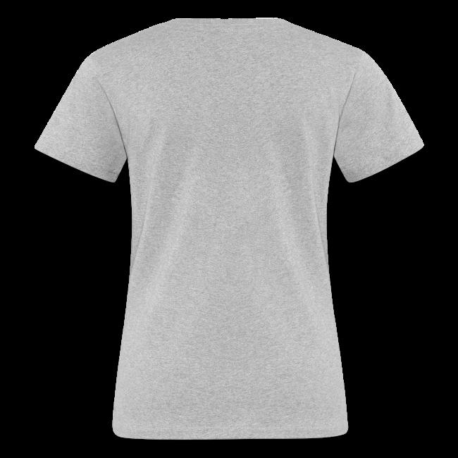 vegetarian bbq - damen bio t-shirt