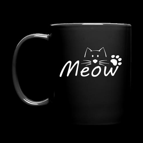 Meow cup mug R2 - Full Colour Mug