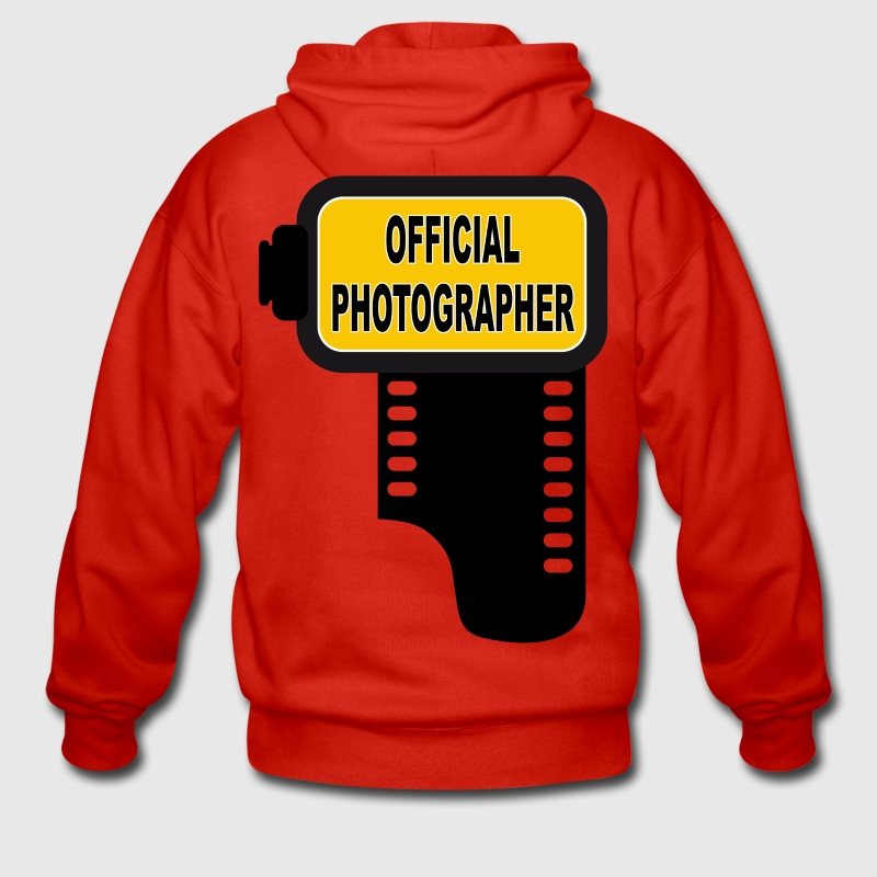 official photographer 02 Sweat-shirts - Veste à capuche Premium Homme