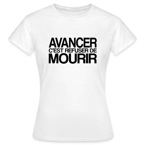 AVANCER - T-shirt Femme