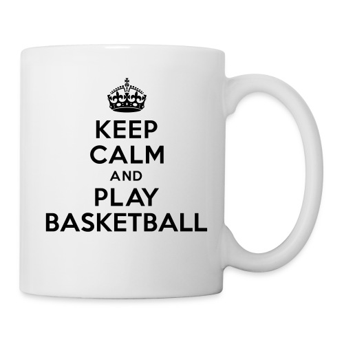 Keep Calm and Play Basketball - Tasse