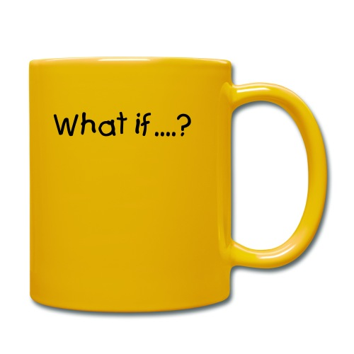 What if...? Okey Cokey Mug Yellow - Full Colour Mug